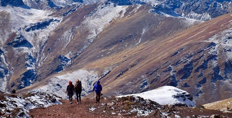 Rainbow Mountain trek In Cusco